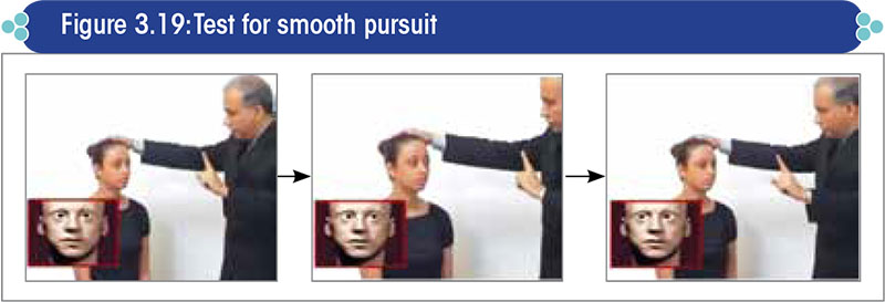 Test for smooth pursuit