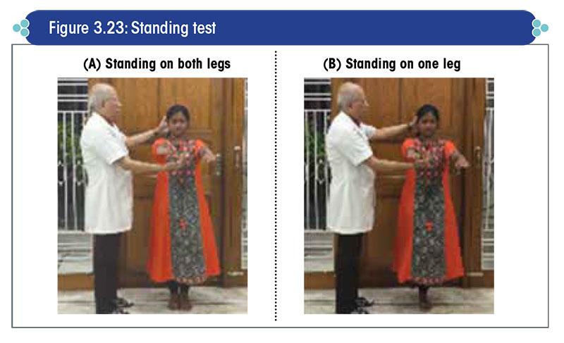 Standing test