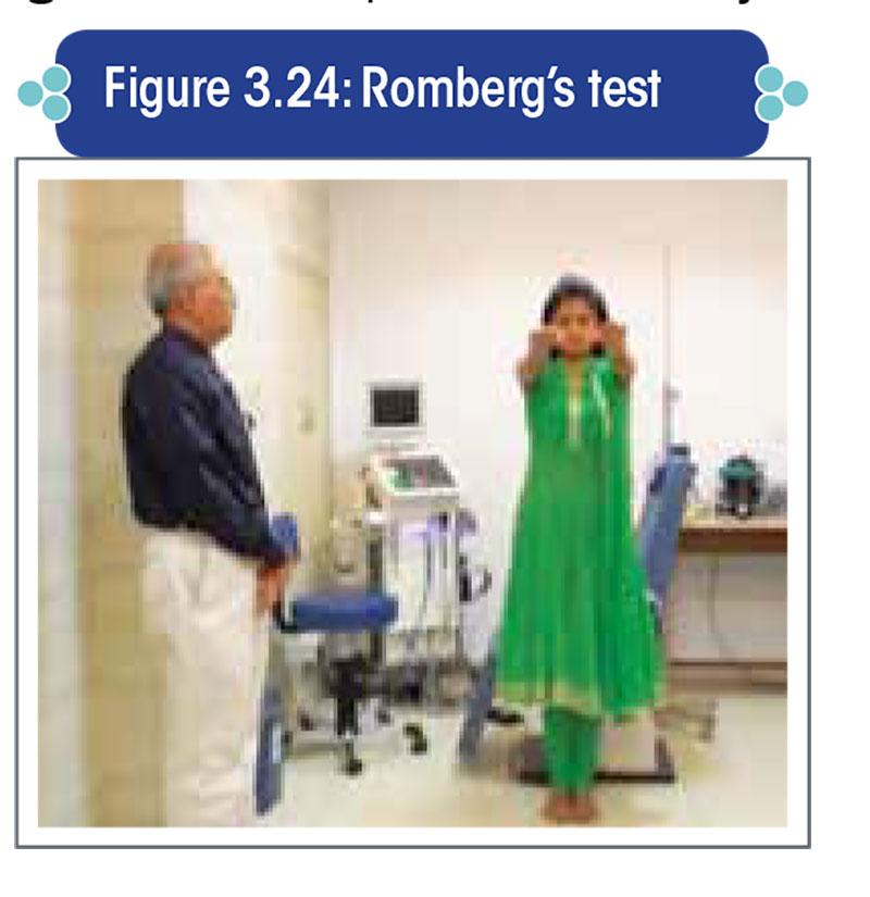 Romberg's test