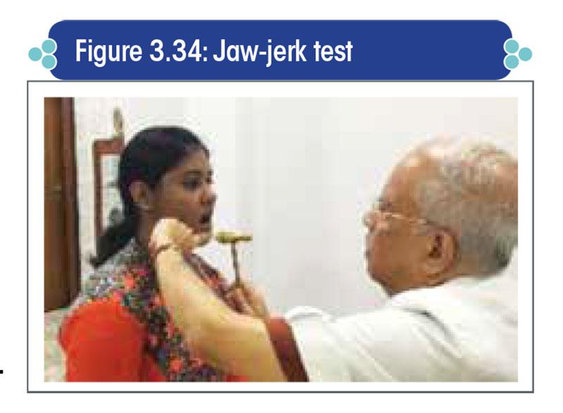 Jaw-jerk test
