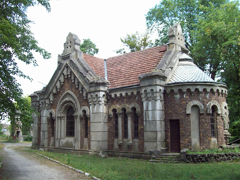 The place where has sometimes lived Mykolaj Potocky